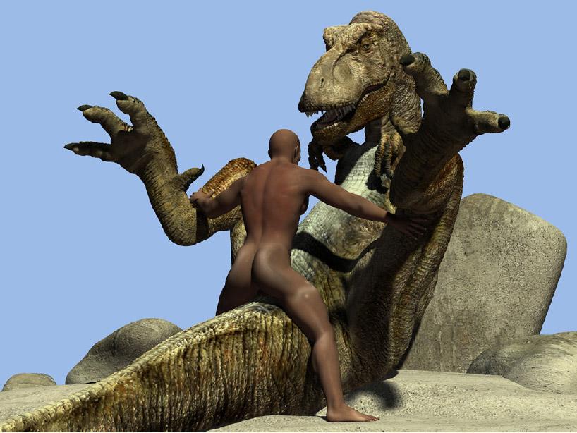 порно с динозаврами